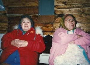 My grandmothers, Lydia Simon and Alda Frank. Photo by Angela Gonzalez