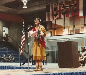 Singing at WEIO