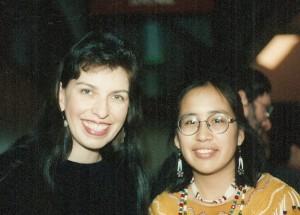 Shan Goshorn and Angela Gonzalez 1996
