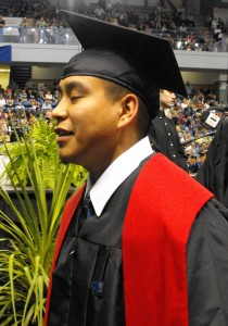 Edwin Bifelt earned a bachelor's degree from the University of Alaska Fairbanks. Photo courtesy of Edwin Bifelt