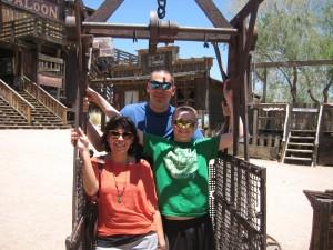 Molissa and her family in Arizona. Courtesy photo