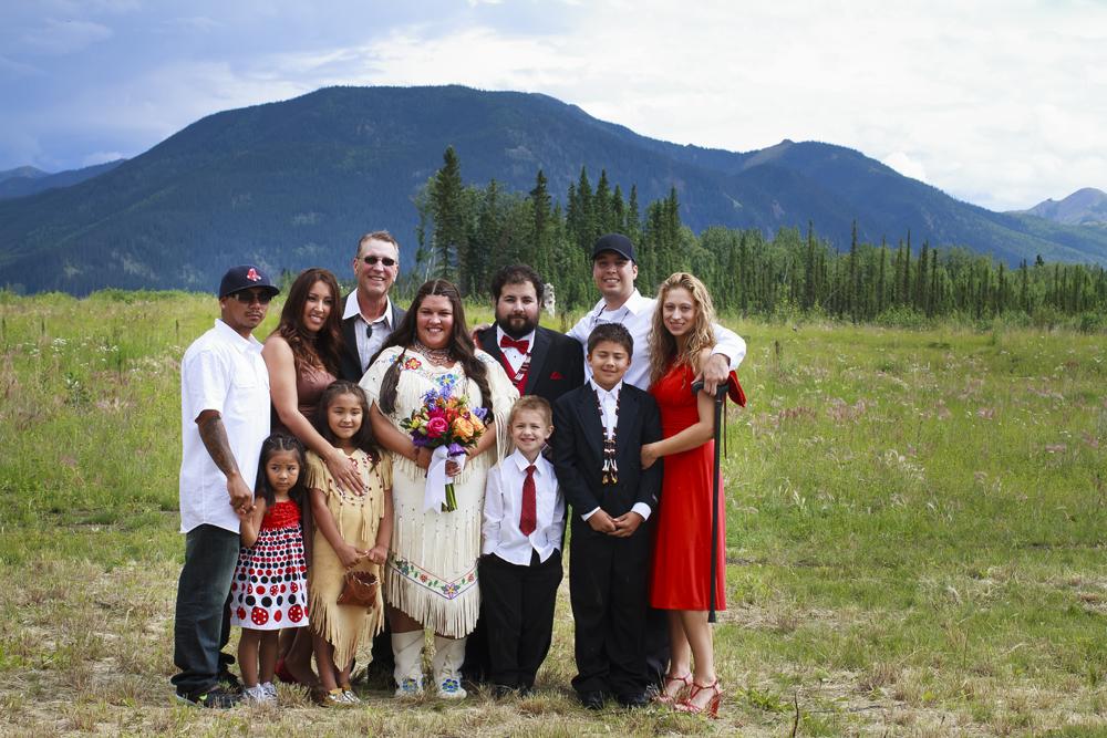 Shyanne married Aaron Leggett in 2011 in Eagle, Alaska. Courtesy photo