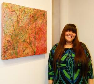 Shyanne Beatty - ANAF artist by Angela Gonzalez 1-04-13