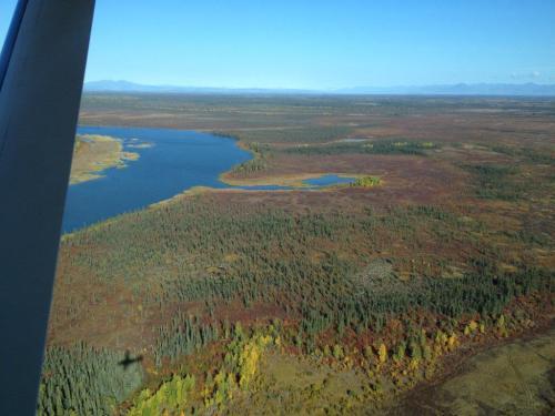 Huslia is northwest of Fairbanks in interior Alaska. Photo by Angela Gonzalez