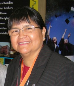 Marlene Watson at 2012 AISES conference in Anchorage. Courtesy photo
