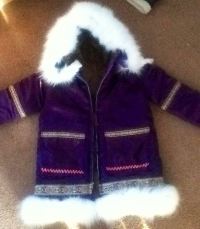 A winter parka made by Tanya Yatlin for her niece. Courtesy photo