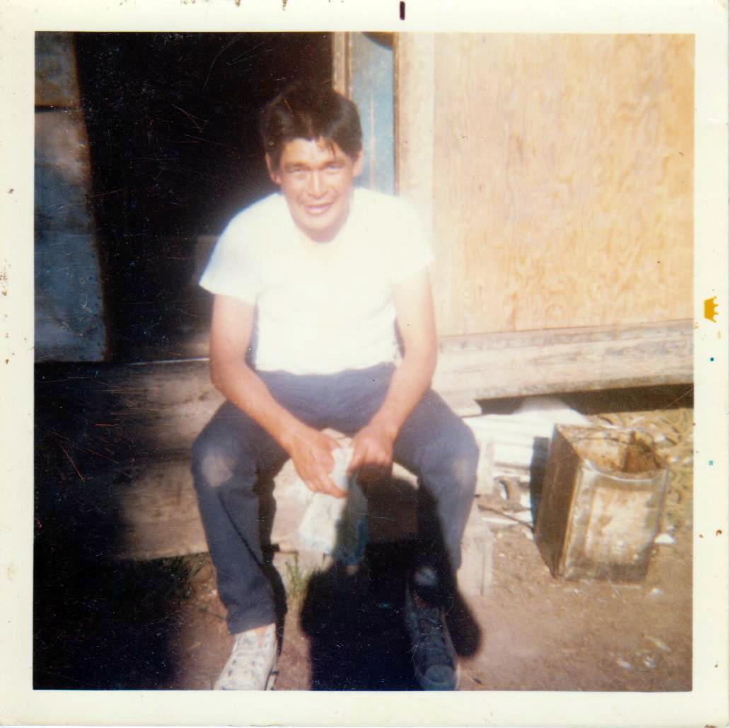 Donald Bergman as a young man in Allakaket. Photo courtesy of Don Bergman