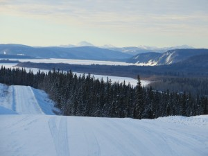 A view of the Yukon River by Nulato. Break-up will soon occur. Photo by Martha Demoski