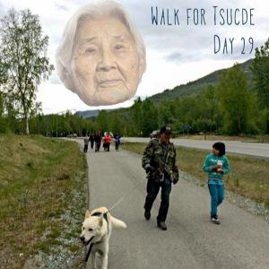 Walk for Tsucde - Day 29. Photo by Angela Gonzalez