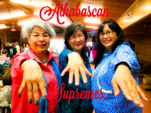 Athabascan Supremes: Amy Modig, Sonia Vent and Angela Gonzalez. Photo by Joie Brown