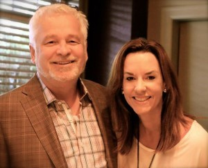 Dr. Terry Simpson and his wife, April. Courtesy photo
