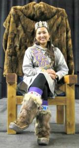 Miss World Eskimo-Indian Olympics (WEIO) 2014, Chanda Simon. Courtesy photo