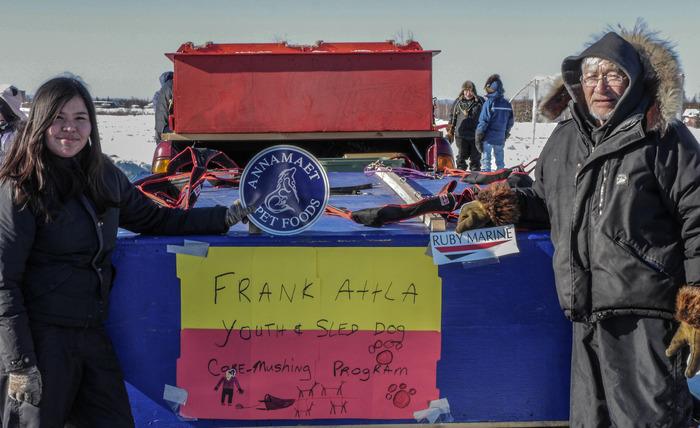 Frank Attla Youth and Sled Dog Care Program. Courtesy photo by Stacia Backensto