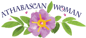 The Athabascan Woman logo was designed by Cindy Shake Design.