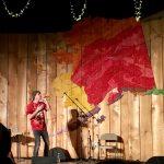 Frank Waln (Lakota) performed at the Circumpolar World Music Festival at the Alaska Native Heritage Center. Photo by Angela Gonzalez